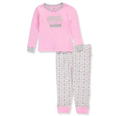 bb33c01af Duck Duck Goose Baby Girls  2-Piece Pajamas - Walmart.com
