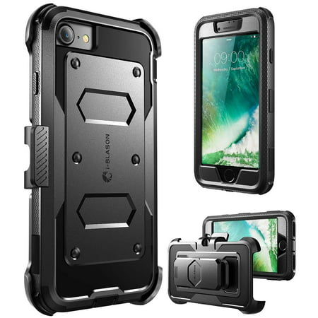 new concept 2833d a7f4e iPhone 7 Case,I-Blason [Armorbox Case] built in Screen Protector, Apple  Iphone 7 Case-Black