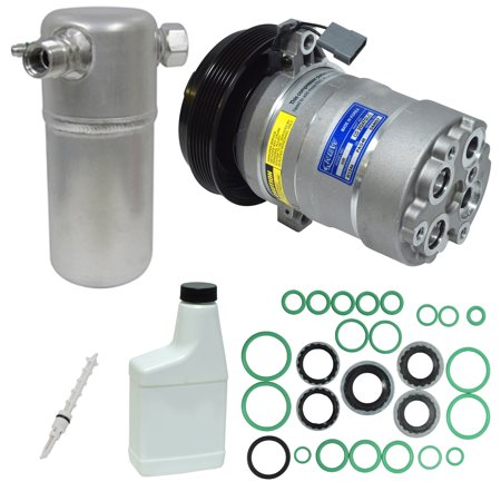 New A/C Compressor and Component Kit KT 3528 - Cutlass Ciera Century Cutlass Cr Cutlass Ciera Air Conditioning Compressor