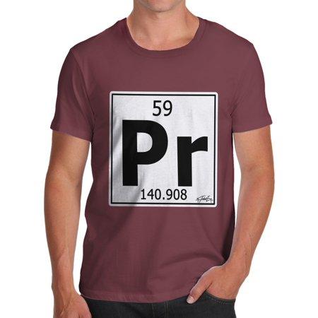 Mens t shirt periodic table element pr praseodymium t shirt funny mens t shirt periodic table element pr praseodymium t shirt funny geek nerd hilarious joke walmart urtaz Images
