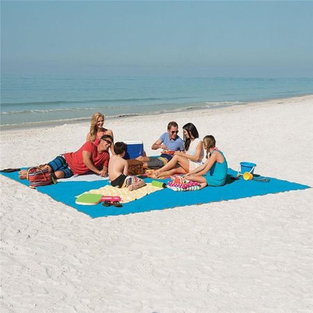200*200CM Beach Mat Outdoor Sand Proof Blanket Ultra Lightweight Fast Dry Waterproof Beach Blanket for Beach, Picnic, Hiking, Outdoor (Green)