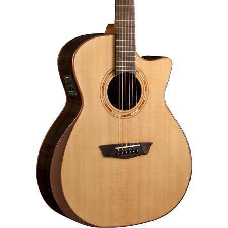 - Washburn USM-WCG20SCE Comfort Series Acoustic-Electric Guitar Natural