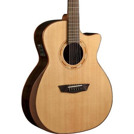 Washburn USM-WCG20SCE Comfort Series Acoustic-Electric Guitar Natural