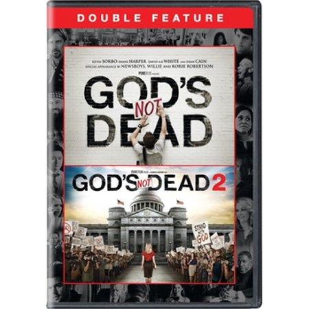 God's Not Dead / God's Not Dead 2 (DVD)