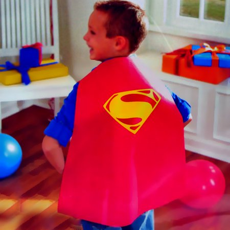 Superman Man of Steel Plastic Cape (1ct)](Find Costume Coupon)