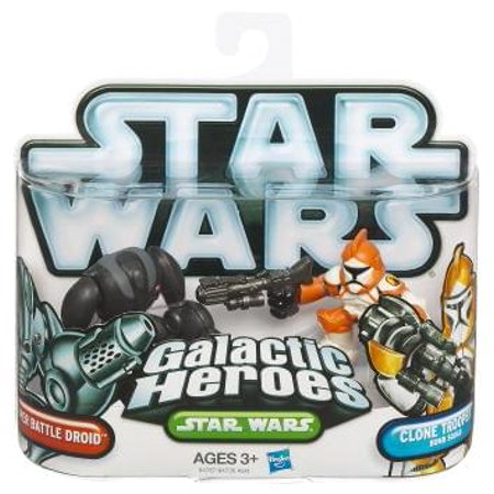 Star Wars Galactic Heroes: Super Battle Droid & Clone