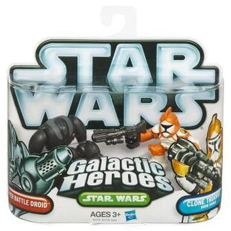Star Wars Clone Troopers (Star Wars Galactic Heroes Super Battle Droid & Clone)