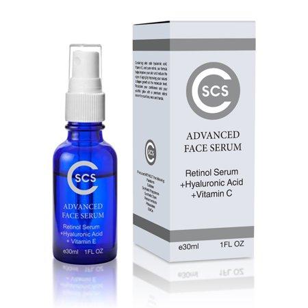 Retinol Serum With Hyaluronic Acid And Vitamin C