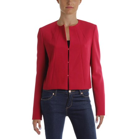 BOSS Hugo Boss Womens Jenisa Cropped Collarless Blazer