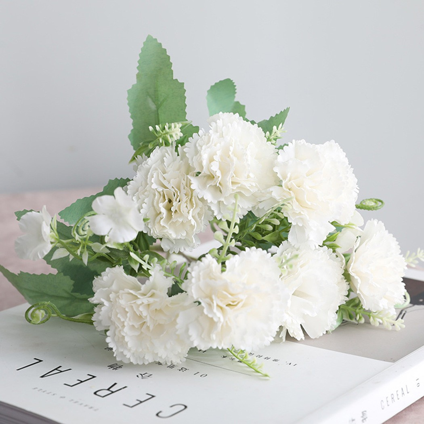 UK Silk Peony Artificial Fake Flowers Bunch Bouquet Wedding Party Garden Decor S