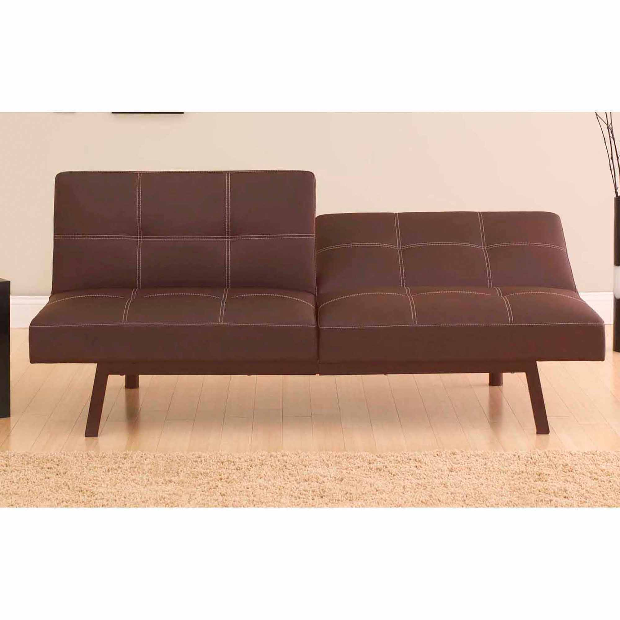 Sofa Bed delaney split-back futon sofa bed, multiple colors - walmart