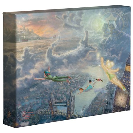 Thomas Kinkade Tinker Bell and Peter Pan Fly to Neverland - 8