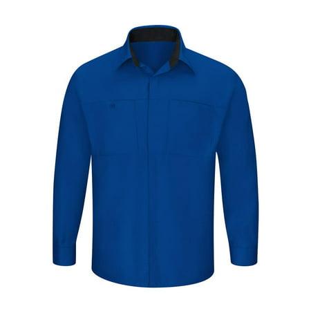b5c96abf112686 Red Kap - Red Kap Workwear Men's Performance Plus Shop Shirt with ...