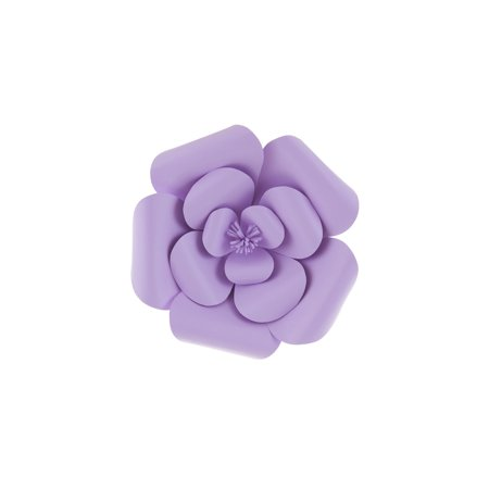 Mega Crafts - 8'' Handmade Paper Flower in Lavender | For Home Décor, Wedding Bouquets & Receptions, Event Flower Planning, Table Centerpieces, Backdrop Wall Decoration, Garlands & Parties](Wedding Reception Decoration)