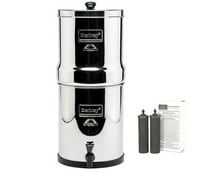 Berkey Crown Berkey 6 Gal. Stainless Steel Water Purifier with 2 Black Filters