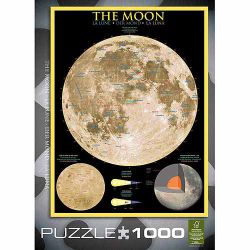EuroGraphics The Moon 1000-Piece Puzzle by Generic