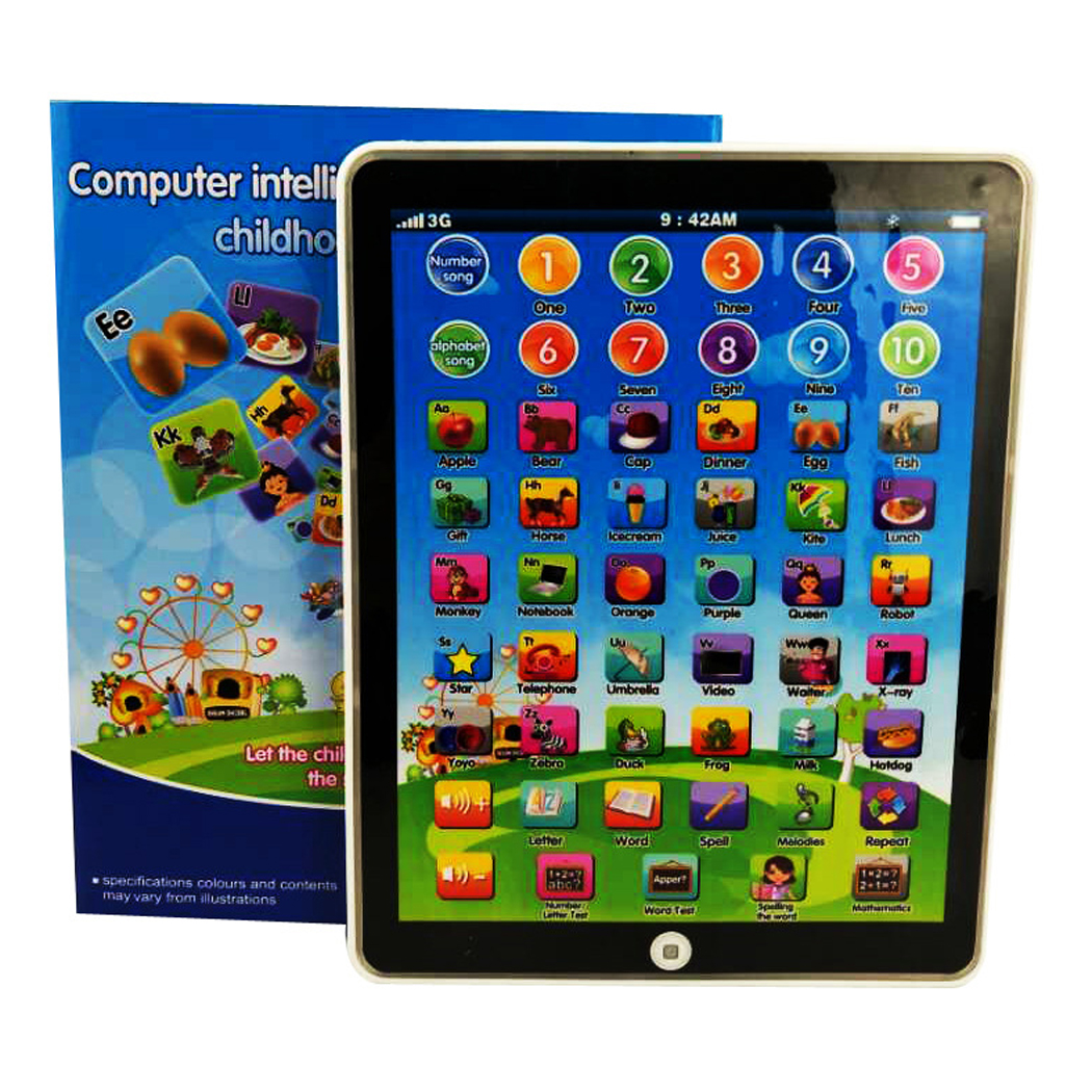 Pad Educational Tablet Gift Baby Study Learning Machine Kids Boys Girls Children