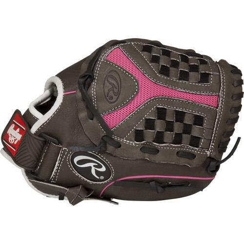 Storm Youth Series Softball Gloves Grey Pink 11, USA, Bra...