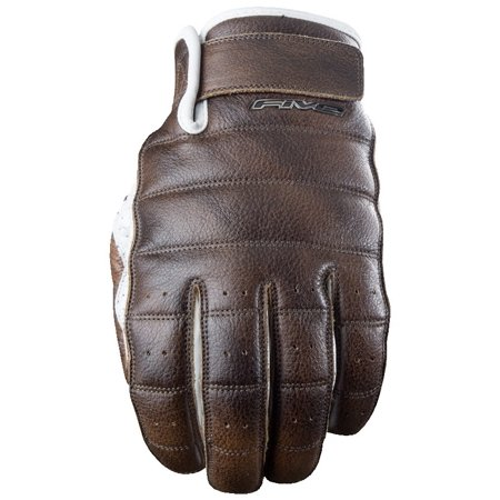 5 Small Leather - Five Gloves California Leather Street Glove Brown Small