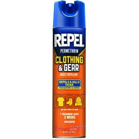 Sawyer Permethrin Clothing Insect Repellent - REPEL Permethrin Clothing and Gear Insect Repellent Aerosol 6.5 Oz