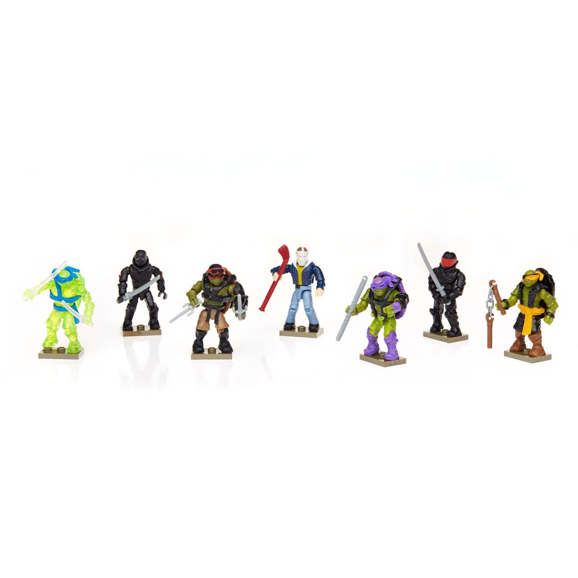 Mega Bloks Teenage Mutant Ninja Turtles Movie Character Pack