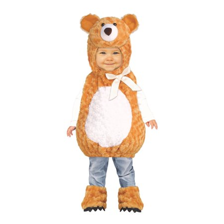 Teddy Bear Infant Costume](Baby Boy Bear Costume)