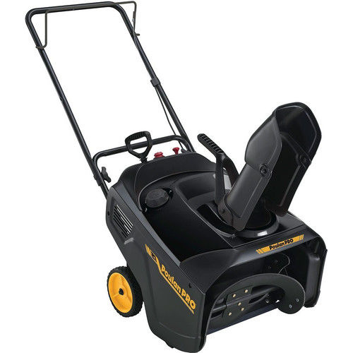 "Click here to buy Poulan Pro 21"" 136cc Single-Stage Gas Snow Thrower by Husqvarna."
