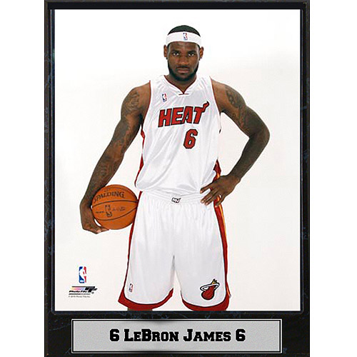 NBA LeBron James Photo Plaque, 9x12