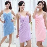 Bathtub shower towel wrapped microfiber beach  sauna skirt ladies bath towel