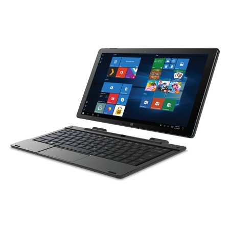 "SmarTab 10.1"" 2in1 Windows Tablet W/ Keyboard"