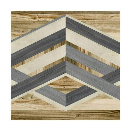 Inlay Art - Geometric Inlay IV Print Wall Art By June Vess