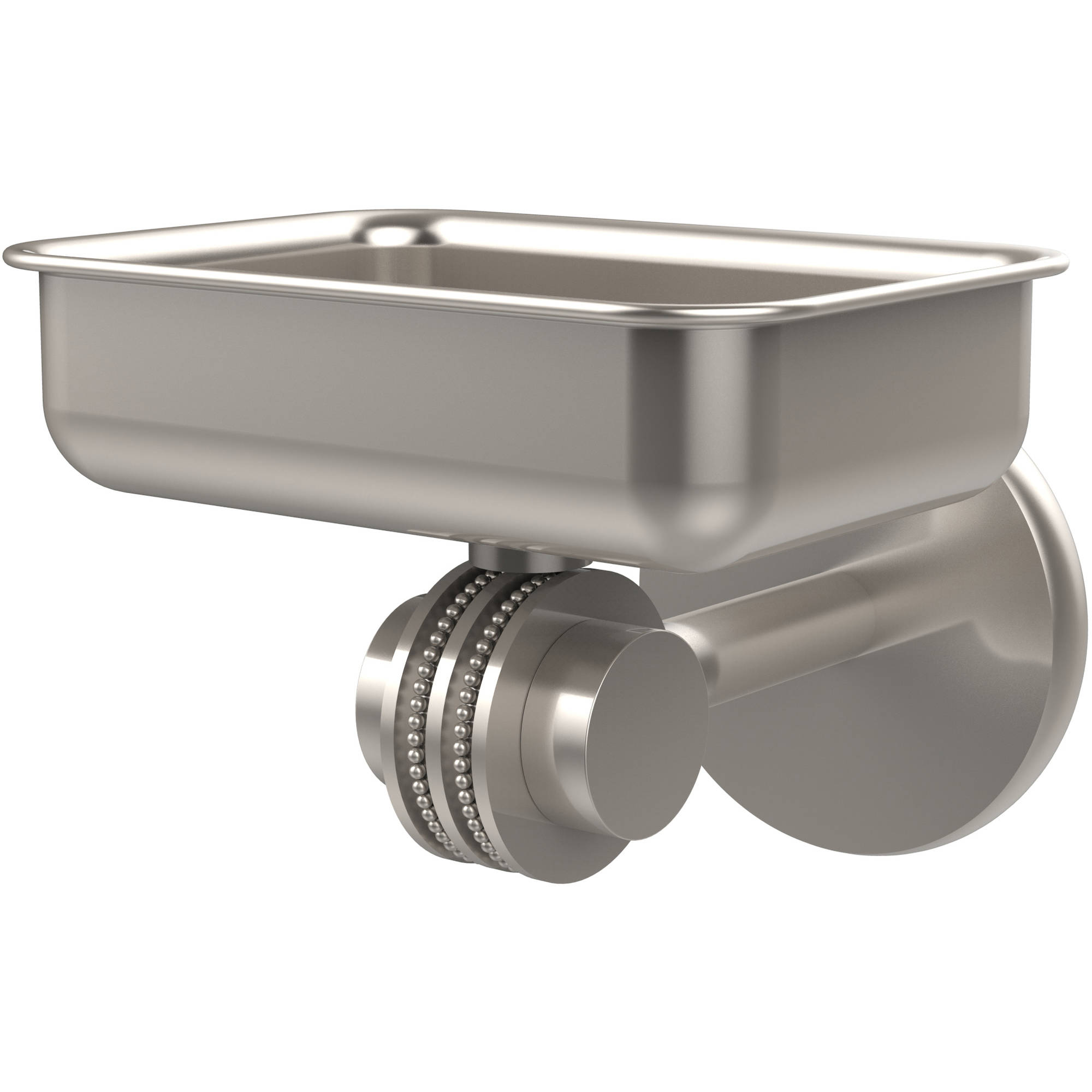 Satellite Orbit Two Collection Wall-Mounted Soap Dish with Dotted Accents (Build to Order)