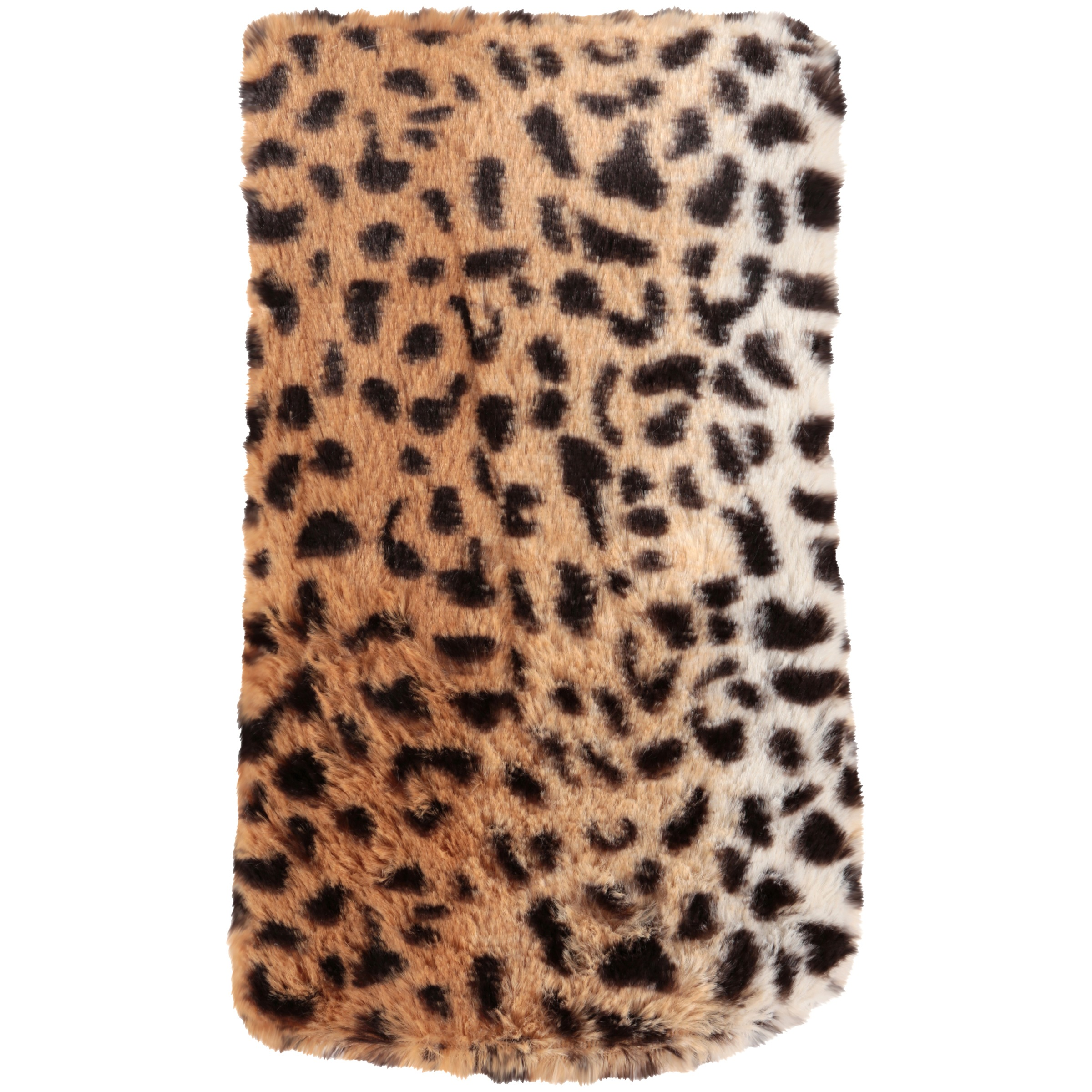Mainstays Faux Fur Body Pillow Cover