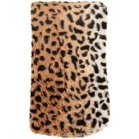 "Mainstays Faux Fur 20"" x 54"" Cheetah Printed Body Pillow Cover, 1 Each"