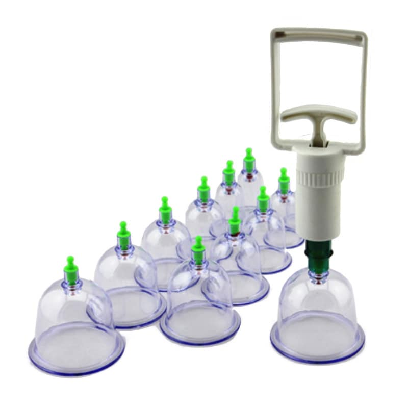 Extreme Fit Body Cupping 15-piece Massage Set for Stress and Muscle Relief