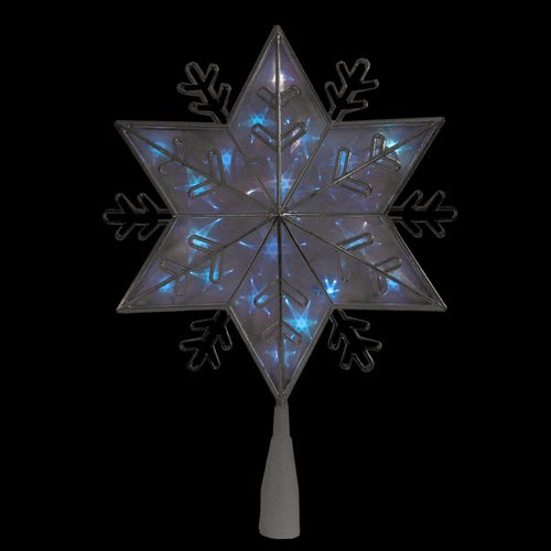 The Holiday Aisle 8-Point Snowflake Christmas Tree Topper