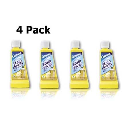 Carbona Stain Devil #5 - 4 Pack for Fat and Cooking (Stained Oil)