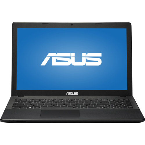 "ASUS Black 15.6"" D550MAV-DB01(S) Laptop PC with Intel Bay Trail-M N2830 Dual-Core Processor, 4GB Memory, 500GB Hard Drive and Windows 8.1"