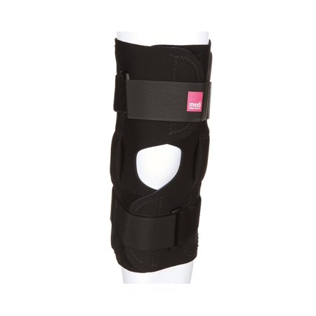 Hinged Neoprene Knee Brace best for weak, sore, or misalignment injuries, The medi neoprene knee stabilizer provides relief from knee instability,.., By Medi From
