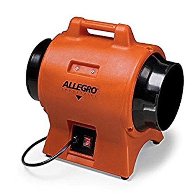 Allegro Industries 9539-12DC 12 in. DC Industrial Plastic Blower