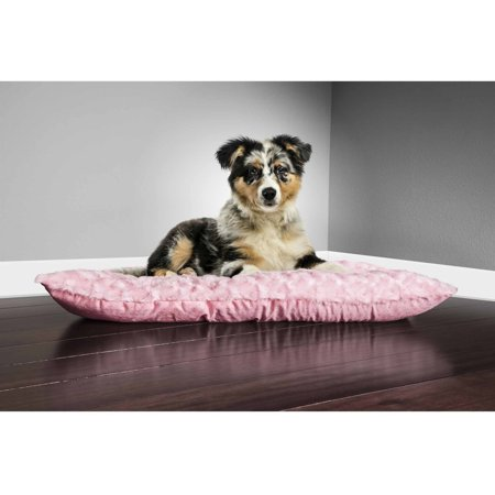 Furhaven Pet Nap Reversible Tufted Plush Pillow Dog Bed For Crates Or Kennels
