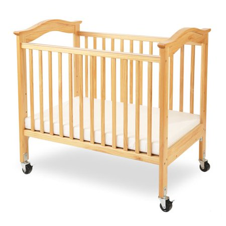 l a baby berkshire portable crib with mattress. Black Bedroom Furniture Sets. Home Design Ideas