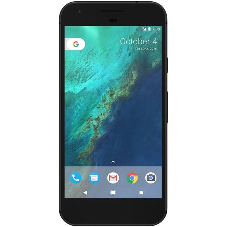 Google Pixel 32GB G-2PW4100 Verizon + GSM Unlocked Smartphone - Quite Black ()