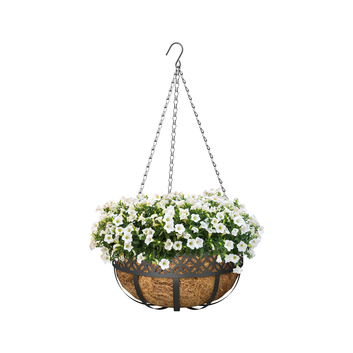 Better Homes and Gardens 18 in. Outdoor Lattice Coco Basket - Set of 2