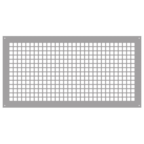 "Reggio Registers G1733-SH Grid Series 30"" x 14"" Grille with Mounting Holes"