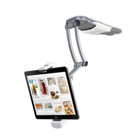 Cta Digital 2-in-1 Kitchen Mount Stand For Ipad & Tablets - Aluminum - 1 (