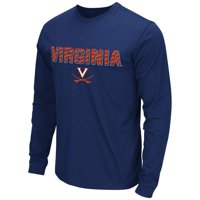 Mens NCAA Virginia Cavaliers Long Sleeve Tee Shirt (Team Color) - M, Long Sleeve Tee Shirt. Fabric: 60% Cotton / 40% Polyester. Application: Screen print. Officially.., By Colosseum Ship from US