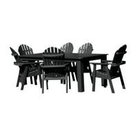 """highwood® Hamilton Eco-Friendly 7pc Rectangular Dining Set 72"""" x 42"""""""