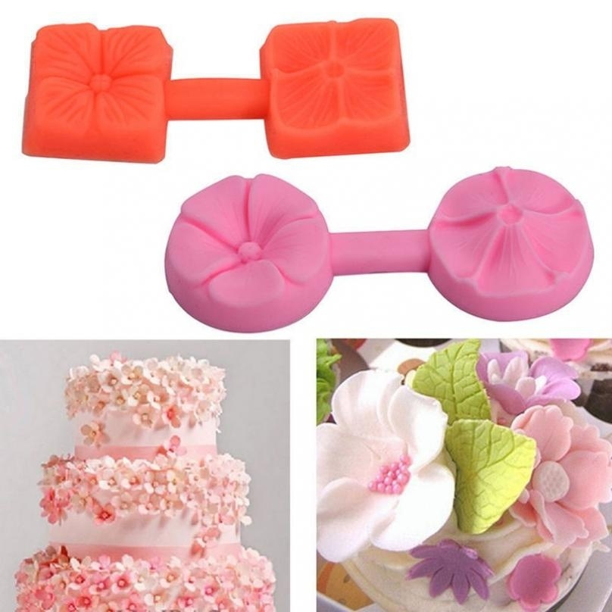 3D Rose Silicone Fondant Cake Mold Chocolate Sugarcraft Cake Mould Baking Tools