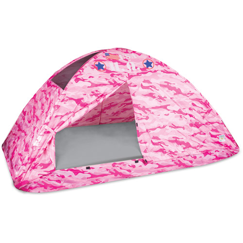 Pink Camo Bed Tent, Twin